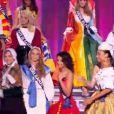 Les Miss aux couleurs de leurs régions lors de la cérémonie de Miss France 2013 à Limoges le 8 décembre 2012