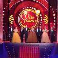 Le défilé des Miss en robe de soirée - élection de Miss France 2013 samedi 8 décembre 2012 sur TF1