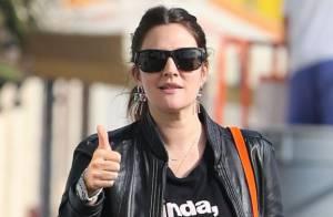 Drew Barrymore : Rayonnante, elle rend hommage à quatre top models