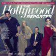 La couverture du prochain numéro de The Hollywood Reporter à paraître le 14 décembre 2012.