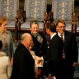 L'Union européenne, représentée par le président du Conseil européen Herman Van Rompuy, le président de la Commission européenne José Manuel Barroso et le président du Parlement européen Martin Schulz, s'est vu décerner le 10 décembre 2012 à l'Hôtel de Ville d'Oslo le prix Nobel de la Paix, en présence de la famille royale de Norvège, d'une vingtaine de dirigeants européens et de l'acteur Gerard Butler en charmante compagnie.