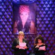Michèle Bernier lors d'un spectacle avec Michèle Bernier au profit de l'association 'Meghanora' au théâtre la nouvelle Eve à Paris le 10 Decembre 2012.