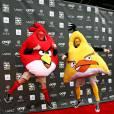 Il faudra s'habituer à voir les Angry Birds sur les tapis rouges d'Hollywood. Ils débarqueront en 2016 au cinéma. (Photo du 7 avril 2011)
