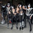 Kiss à New York le 10 octobre 2012.
