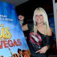 """Charles, Arthur, Tressia, Laura, Hillary, Vincent, Harmonie, Ryan, Gaëlle et Alexandre lors de la conférence de presse pour """"Les Ch'tis à Las Vegas"""" à L'Elysée Lounge, à Paris, le 13 décembre 2012."""