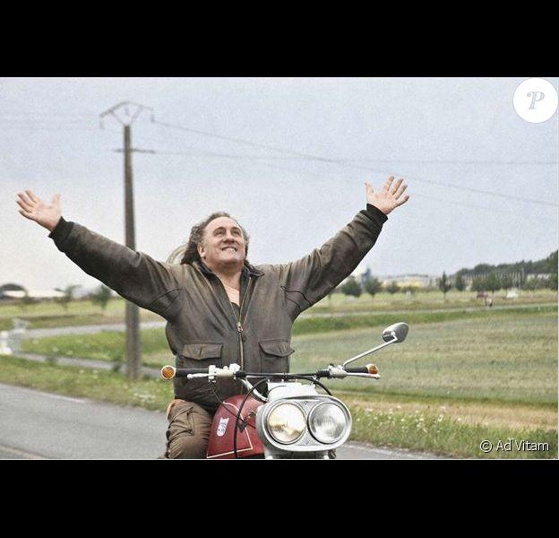 Gérard Depardieu dans le film Mammuth sorti le 21 avril 2010.