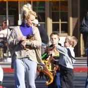 Britney Spears néglige son look, mais pas ses fils !