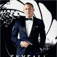 Affiche officielle du film Skyfall, de Sam Mendes.