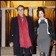 Julien Clerc et Hélène Grémillon à Paris, le 5 décembre 2012.