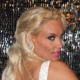 La sexy Coco Austin célèbre sa première représentation dans la revue burlesque Peepshow. Las Vegas, le 17 décembre 2012.
