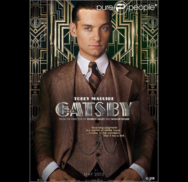 Leonardo Dicaprio Pourrait Jouer Dans Gatsby Le Magnifique: Characters Poster Pour Tobey Maguire Dans Gatsby Le