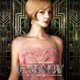 Characters poster pour Carey Mulligan dans Gatsby le Magnifique.
