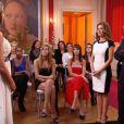 Alexandre et Corina dans le dernier épisode de Qui veut épouser mon fils ?, saison 2, le vendredi 21 décembre 2012 sur TF1