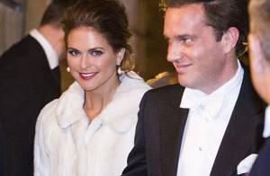 Madeleine de Suède comblée : son fiancé Chris O'Neill vit son premier gala royal