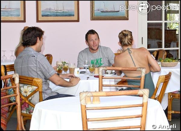 Kate Hudson et Lance Armstrong, déjeuner en amoureux...
