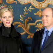Charlene de Monaco s'essaye au français lors des voeux 2013 du prince Albert !