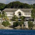 Rihanna en vacances dans une villa à la Barbade, le 19 décembre 2012