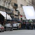 Sur le tournage du biopic Grace of Monaco, d'Olivier Dahan à Paris, le 6 janvier 2013.