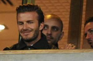 David Beckham : Sexy papa, en famille au stade... Retour définitif à Londres ?