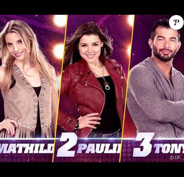 Tony, Pauline et Mathilde sont nominés cette semaine dans Star Academy 9 sur NRJ 12
