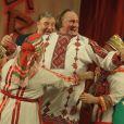Gérard Depardieu s'est rendu le 6 janvier 2013 à Saransk, capitale de la Mordovie, republique autonome russe, ou il a été accueilli en fanfare par le gouverneur de la région Vladimir Volkov. Des femmes, en costumes traditionnels, ont chanté à son arrivée sur le tarmac de l'aéroport de Saransk.