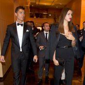 Ballon d'or : Cristiano Ronaldo et sa belle Irina déçus, devant Gérard Depardieu