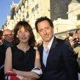 Sophie Marceau et Gad Elmaleh au Festval de Cabourg