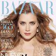 Amy Adams en couverture de l'édition mexicaine du magazine Harper's Bazaar. Numéro de janvier 2013.