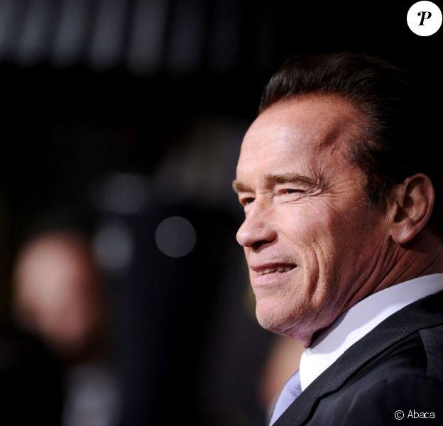 Arnold Schwarzenegger revient sur le devant de la scène lors de l'avant-première hollywoodienne de son dernier film, Le Dernier rempart, le 14 janvier 2013