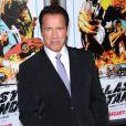 Arnold Schwarzenegger pendant la première du Dernier Rempart (The Last Stand) au Chinese Theatre de Los Angeles, le 14 janvier 2013.