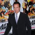 Arnold Schwarzenegger pendant la première de son film Le Dernier rempart au Grauman Chinese d'Hollywood, le 14 janvier 2013.