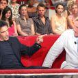 Gérard Lanvin et Gérard Depardieu lors de l'émission  Vivement dimanche  en 2004
