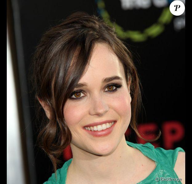 Ellen Page lors de l'avant-première du film Inception, à Los Angeles, le 13 juillet 2010.