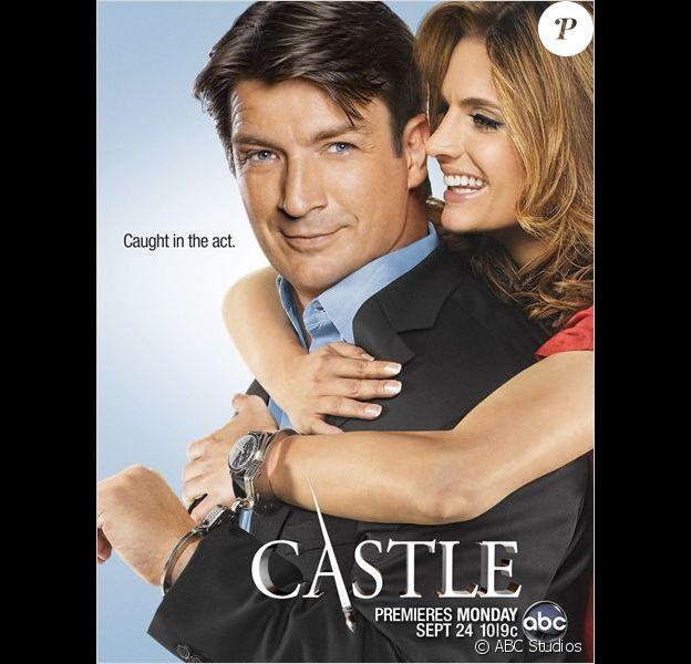 Castle avec Beckett et Castle