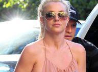Britney Spears, libre : Sans soutien-gorge, elle dévoile presque son sein