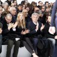 Lily Donaldson and Sidney Toledano le 19 janvier 2013, défilé Dior.