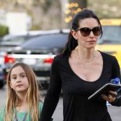 Courteney Cox  : Sa fille Coco, 8 ans, affiche un look néo-grunge !