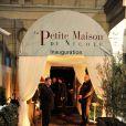 Inauguration du restaurant La Petite Maison de Nicole à l'Hôtel Fouquet's Barrière à Paris le 21 Janvier 2013.