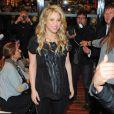 Shakira et Gérard Piqué assistent à la présentation du livre de son père à Barcelone le 14 Janvier 2013.