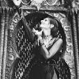 Photo d'archives de la chanteuse mythique Barbara, non datée.