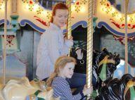 Marcia Cross : Cochon-pendu et manège, elle assure pour sa fille Savannah !