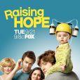 Affiche de la série Raising Hope, diffusée sur la FOX et dans laquelle Hilary Duff va jouer.