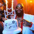 Exclusif - Rick Ross, rappeur et fondateur du label MMG (Mayback Music Group), fête son 37e anniversaire au LIV à Miami Beach. Le 27 janvier 2013.
