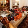 Vente aux enchères de 50 sacs Hermès à l'hôtel Hermitage à Monte-Carlo. Le 25 juillet 2012.