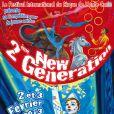 Bande-annonce du deuxième New Generation au chapiteau de Fontvielle à Monaco, les 2 et 3 février 2013.