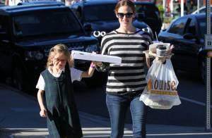 Jennifer Garner et l'adorable Violet : Fous rires complices et soirée pizza