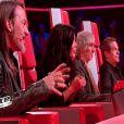 Justy dans The Voice 2 le samedi 2 février 2013 sur TF1