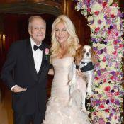 Hugh Hefner en deuil, son épouse Crystal Harris rend hommage à la défunte