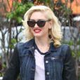 Gwen Stefani et son fils Kingston à l'issue de leur goûter au Cafe Med à West Hollywood. Le 2 février 2013.