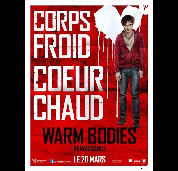 Affiche officielle du film Warm Bodies.